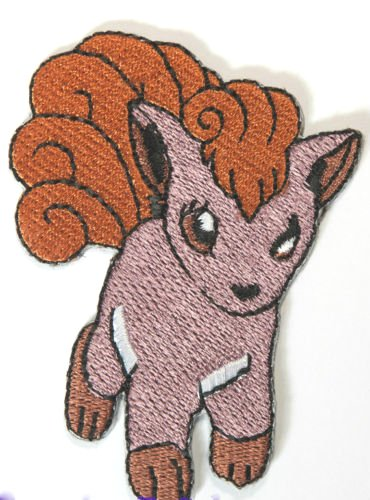Cosplay Vulpix Costume (Vulpix Embroidered Iron/Sew on Patch - 2.5