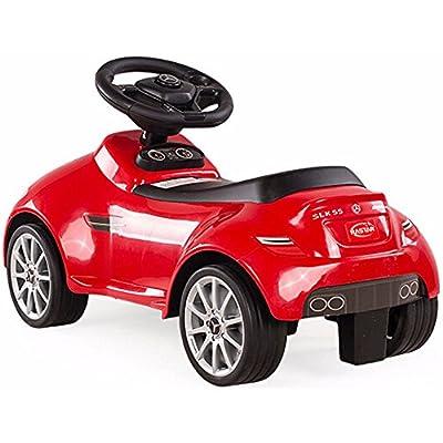 RASTAR Mercedes SLK 55 AMG Foot to Floor Ride On Red: Toys & Games