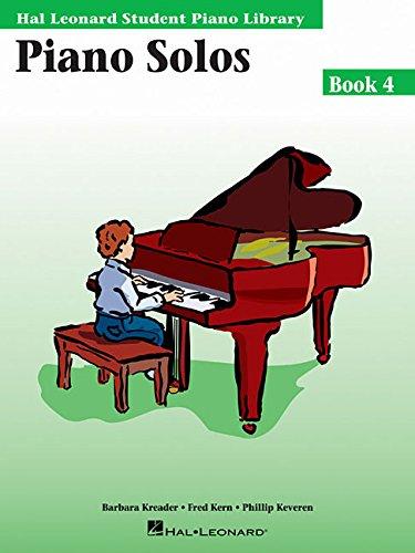 - Piano Solos Book 4: Hal Leonard Student Piano Library