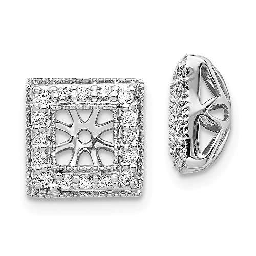 14K White Gold Diamond...