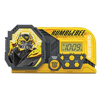 Transformers 4 Transformers Night Glow Alarm Clock