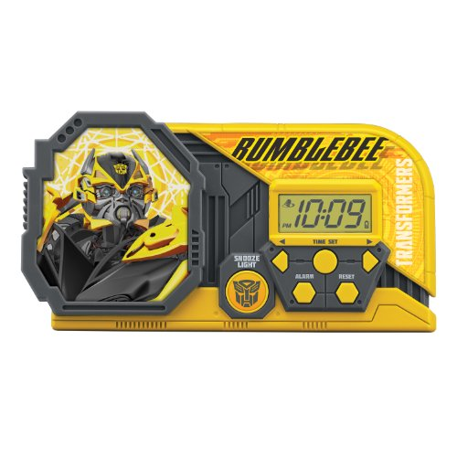 Transformers 4 Night Glow Alarm Clock