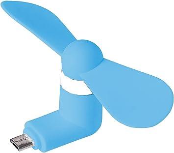 MyGadget Ventilador Micro USB Portátil: Amazon.es: Electrónica