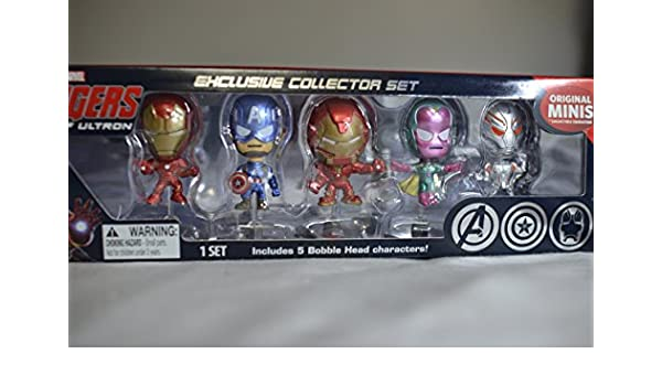 Marvel Avengers Age of Ultron Original Minis 2015 SDCC Exclusive Collector Set