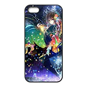 Custom Colored Drawing Back Cover Case for iphone5,5S JN5S-376