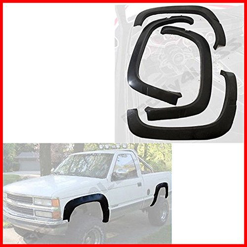 4PCS for 88-98 Chevy GMC C/K Truck Tahoe Suburban Fender Flares Protector