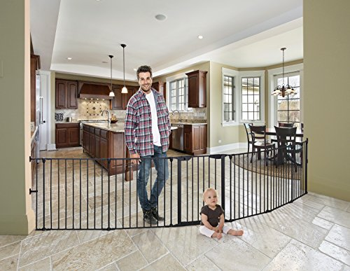 Dreambaby Mayfair Converta 3 In 1 Play-pen 6 Panel Gate, Black by Dreambaby (Image #2)