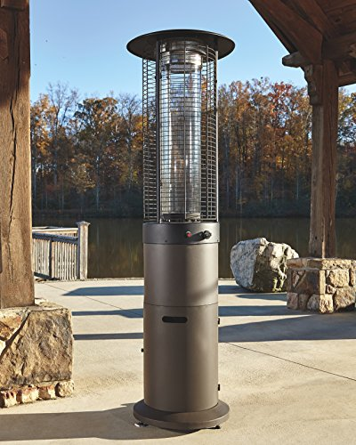 Cheap  Ashley Furniture Signature Design - Hatchlands Outdoor Patio Heater - Glass Enclosure..