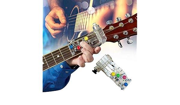 Sistema de aprendizaje de guitarra clásica de acorde, unidad de ...