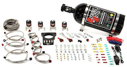 Nitrous Outlet 78mm Dual Stage LSX Plate System (10lb Bottle) ()