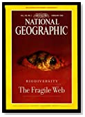 The National Geographic Magazine / February, 1999. Biodiversity:Taking Stock of Life; Variety of Life; Under Antarctic Ice; Forest Elephants; Diatoms; Ants and Plants