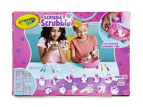 51%2BK493ZceL - Crayola Scribble Scrubbie, Toy Pet Playset,Gift for Kids, Age 3, 4, 5, 6