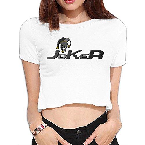 (TLK Custom Women Joker Logo Midriff)