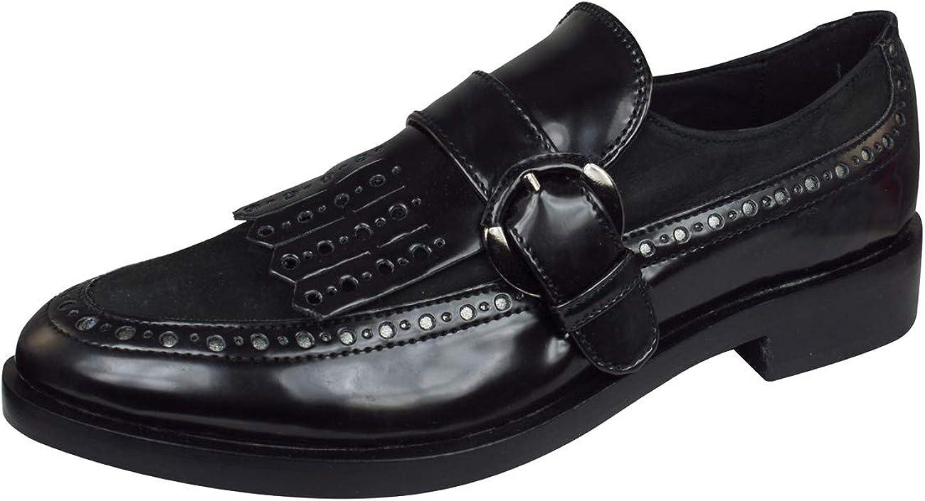 Zapatos para Mujer, Color Negro, Marca GEOX, Modelo Zapatos para Mujer GEOX Donna Brogue Negro