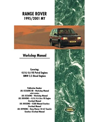 range rover workshop manual 1995 2001 my brooklands books ltd rh amazon com range rover workshop manual 2007 range rover workshop manual 2007