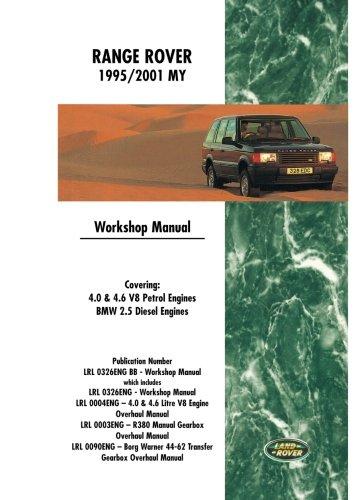 Range Rover Workshop Manual 1995-2001 MY ()