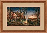 Autumn Evening Framed Encore Print by Terry Redlin