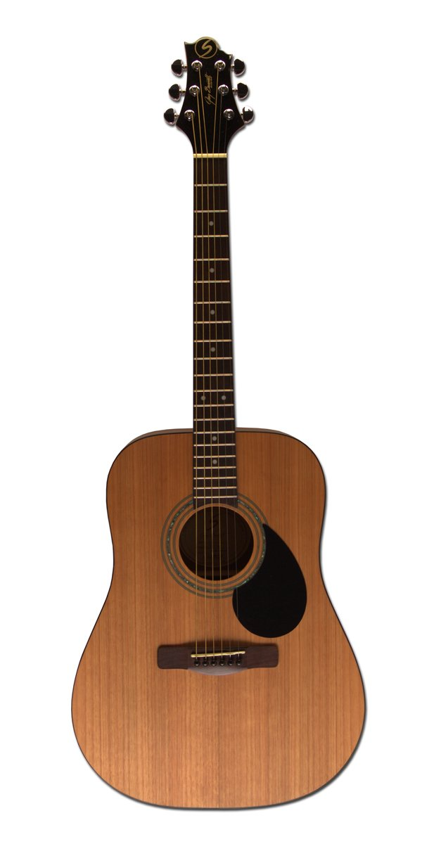 Greg Bennett Design Gold rush D1 N Dreadnought Acoustic Guitar, Natural by Greg Bennett Design