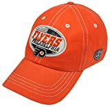 NHL Philadelphia Flyers Men's Angus Slouch Adjustable Hat, One Size, Orange
