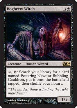 Witch Bog - Magic: the Gathering - Bogbrew Witch (88/249) - Magic 2014