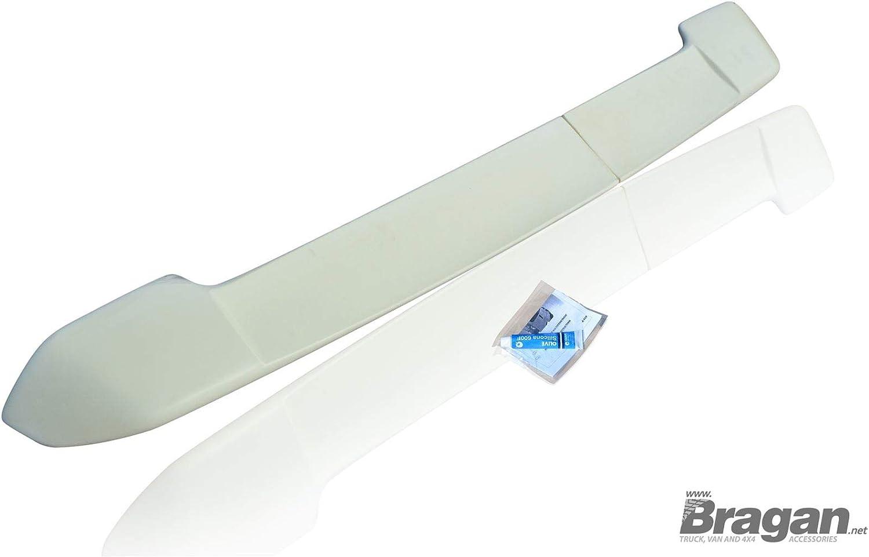 Bragan BRA38213 poliuretano, listo para pintar, incluye kit de montaje Aler/ón trasero para furgoneta y SUV