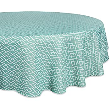 Beautiful DII 100% Polyester, Spill Proof And Waterproof, Machine Washable, Tablecloth  For Outdoor