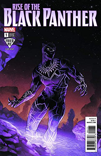 RISE OF THE BLACK PANTHER #1 FRIED PIE VARIANT COMIC BOOK PDF
