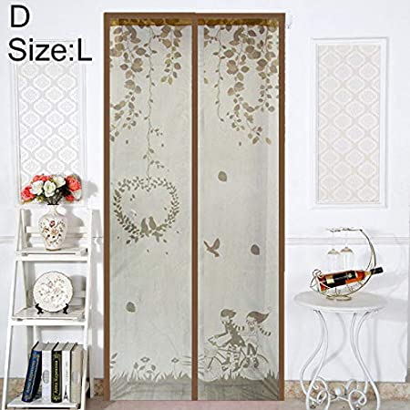 Mcottage Magnetic Door Mesh Curtain Insect Mosquito Net Screen Bug Fly Guard Soft Cartoon