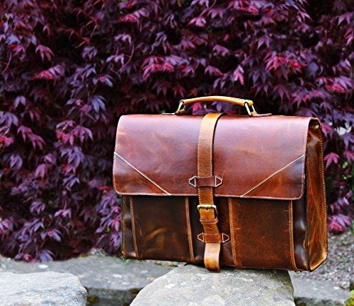 Kalating - London  Holm Oak,  Herren Damen Unisex-Erwachsene Aktentasche braun braun Shoulder bag