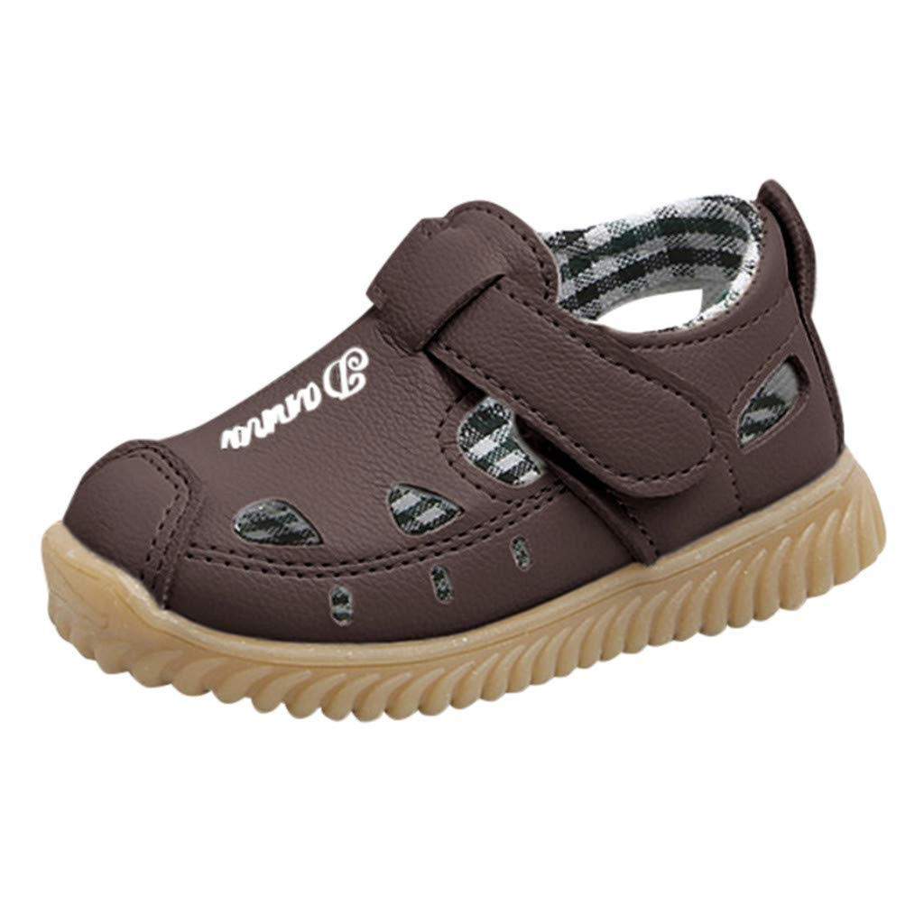 Tronet Baby Boys Beach Sandals Sneaker Toddler Children Letter Casual Single Shoes
