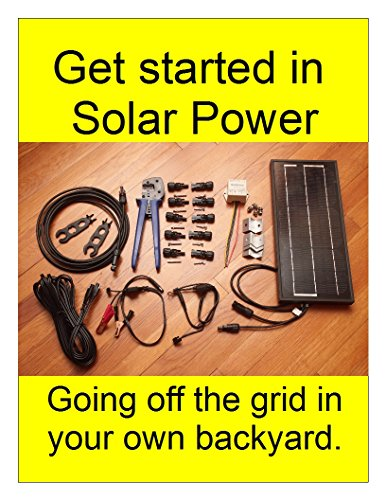 Get started in Solar Power: Going off the grid in your own backyard (English Edition)