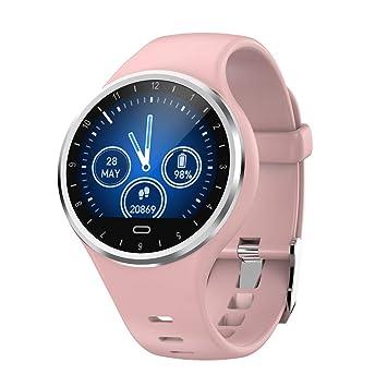 SoloKing Reloj Inteligente Hombre Mujer,Pulsera Actividad Mide Pasos,Calorías,el Pulso,Tensión,Oxígeno,Avise de los ...