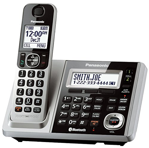 Panasonic KX-TGF370S DECT 6.0 1-Handset Landline Telephone (Renewed)