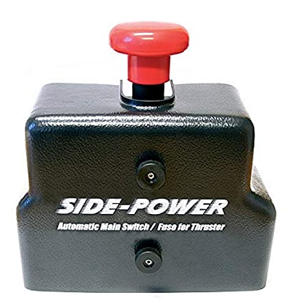 Amazon.com : DC Thrusters Automatic Main Switch & Fuseholder ... on fuse adapters, fuse tool, circuit breaker box, contactor box, relay box, fuse cover,