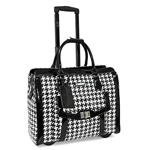 cabrelli-victoria-houndstooth-156-laptop-rollerbrief-black-white