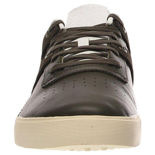 Reebok Mens Workout Low Clean Fvs Sneaker Verde / Bianco / Bianco Crema