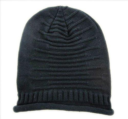 Sombrero Invierno Tejido Accessorystation Moda Crochet Negro Unisex Beige Boina FCqnZwqz