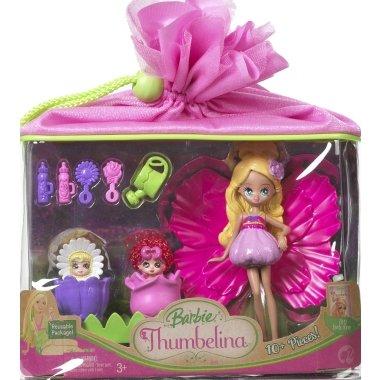 Barbie Thumbelina Mini Doll Playset (Doll Barbie Thumbelina)