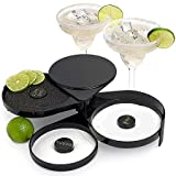 Three Tier Rimmer for Margaritas and Other Drinks