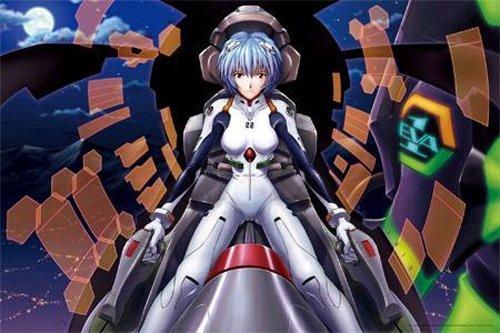 "[1000 pieces] Evangelion Jigzaw Puzzle ""Ayanami"""