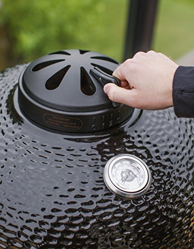 "Pit Boss 71220 Kamado BBQ Ceramic Grill Cooker, 22"""