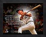 Al Kaline Detroit Tigers Pro Quotes Framed 8x10 Photo