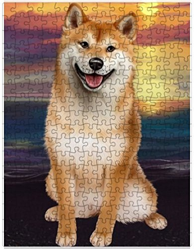 Shiba Inu Dog Puzzle with Photo Tin D542 (1000 pc. for sale  Delivered anywhere in USA