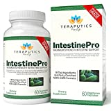 IntestinePro 10-Day Intestine Support for Humans with NON-GMO Wormwood, Black Walnut, Echinacea + 15 More Premium Ingredients, 1485mg, 30 Servings, 60 Vegetarian Capsules