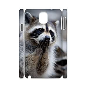 AKLPHONECASE Raccoon Pattern Plastic Phone case For samsung galaxy note 3 N9000 [Pattern-6]