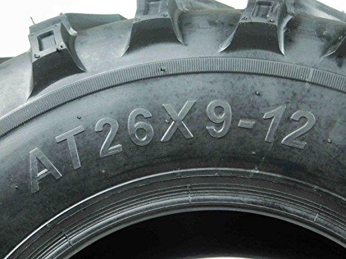 New MASSFX MS ATV/UTV Tires 26 x9-12 Front, Set of 2 26x9x12 26x9/12 by MASSFX (Image #4)