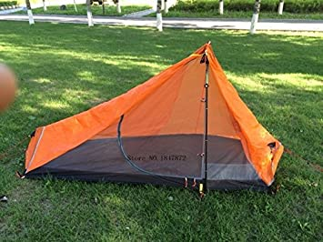 3F UL Gear Solo One Person Silnylon Trekking Pole Tent - 885 grams c/w & Amazon.com : 3F UL Gear Solo One Person Silnylon Trekking Pole ...