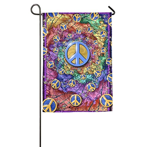 EHAKB World Peace Home Flag Graphic Garden Flag Unique Outdo