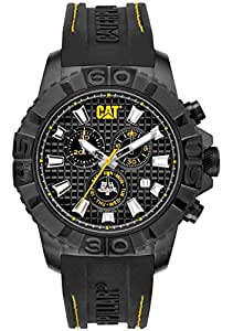 Caterpillar CA.163.27.127 Reloj Análogo de Lujo, para Hombre, negro