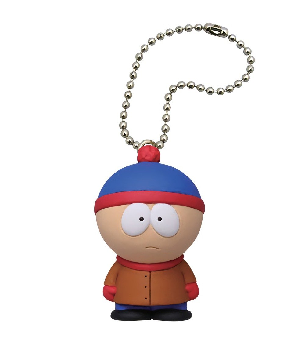 Amazon.com: South Park Mascot Stan Marsh Figure Keychain ...